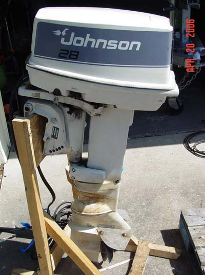 28 Hp Johnson Outboard Motor