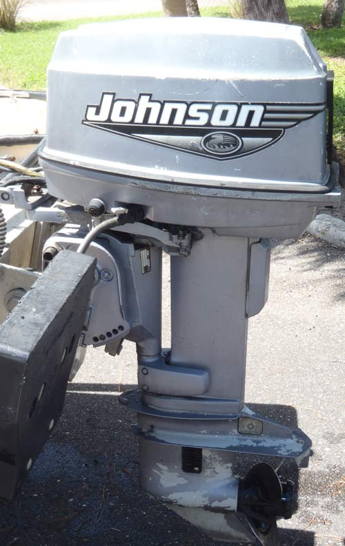 Johnson Boat Motors >> 30hp Johnson Outboard