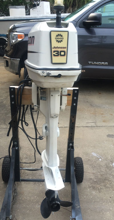Work Boats For Sale >> Johnson 30 hp outboard boat motor for sale AFA Marine, INC.