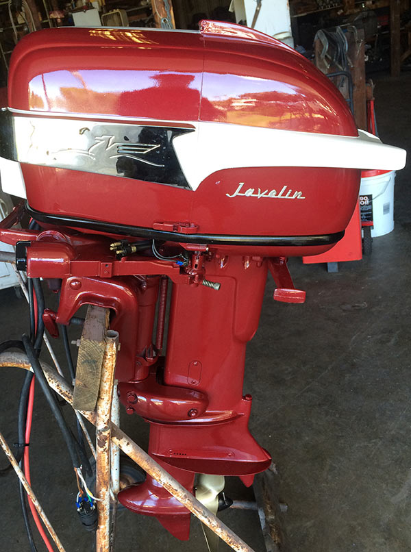 1956 30 Hp Johnson Javelin Antique Outboard