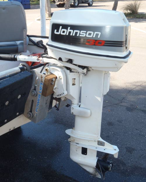 Boston Whaler Boats For Sale >> 30 hp Johnson Long Shaft Outboard Boat Motor For Sale