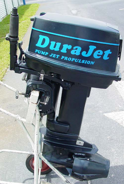 Johnson 30 Hp Pump Jet Outboard