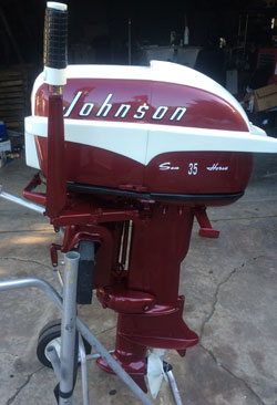 Vintage Evinrude Classic Johnson Antique Mercury Outboards