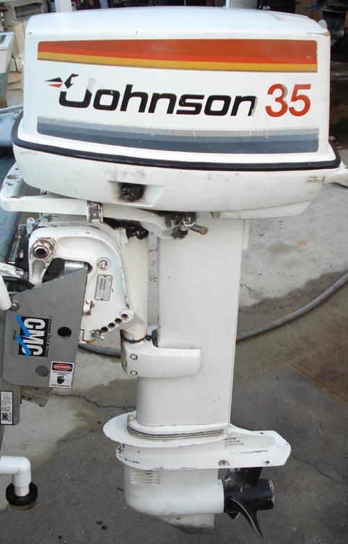 Johnson 35 Seahorse Boat Motor All Boats