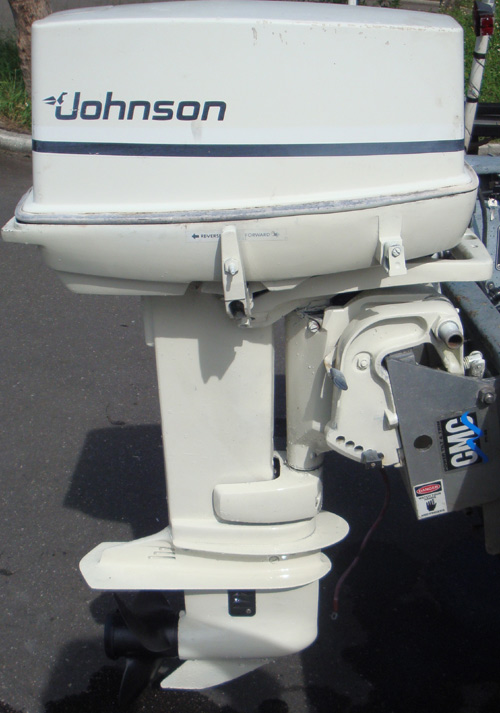 Skiffs For Sale >> 35 hp Johnson Outboard For Sale