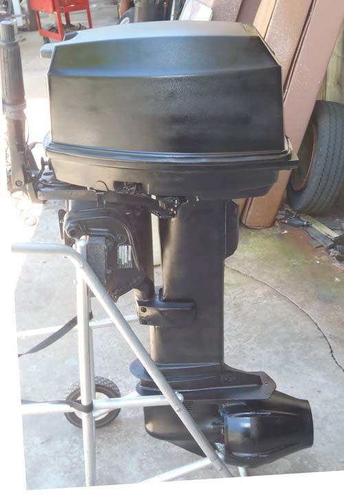 Johnson 35 Hp Pump Jet Outboard