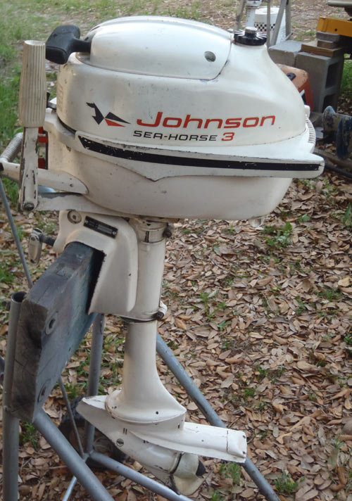3hp Johnson Lightwin Outboard