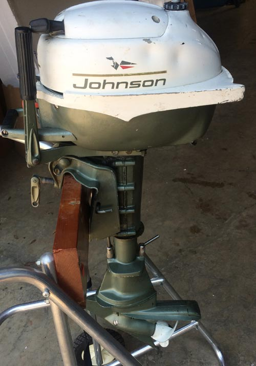 Motors For Sale >> 3 hp Johnson small outboard for a canoe dingy jon boat