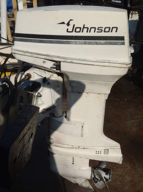 40 hp johnson outboard boat motor for sale for Johnson evinrude outboard motors for sale