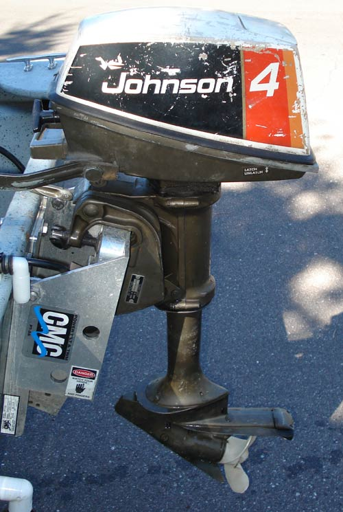 4hp johnson outboard boat motor for sale for Johnson evinrude outboard motors for sale