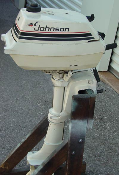 4hp Johnson Outboard Boat Motor For Sale