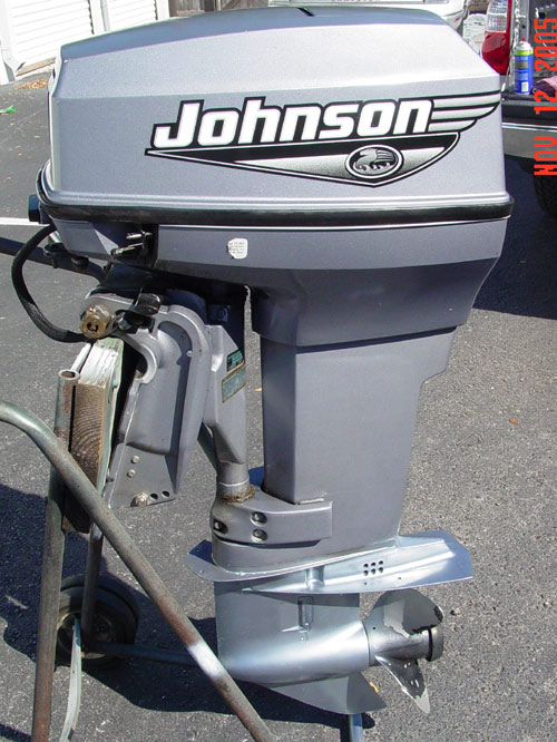 2000 Johnson 50 Hp Outboard