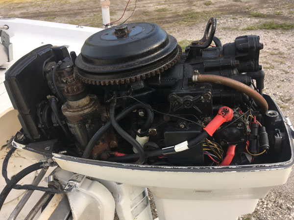 50 hp Johnson Outboard