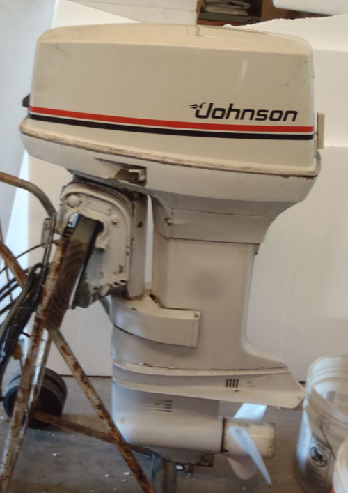 50 Hp Johnson Electric Shift Outboard For Sale