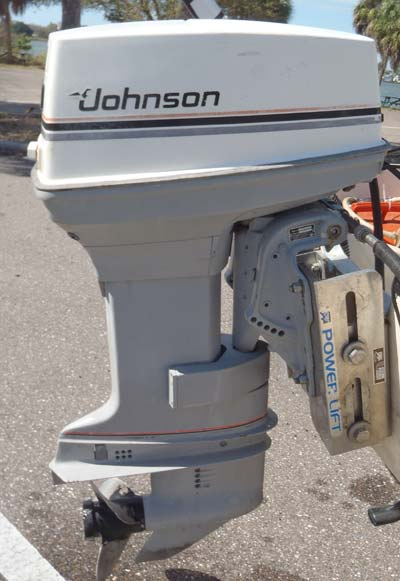 50 Hp Johnson Outboard Boat Motor For Sale