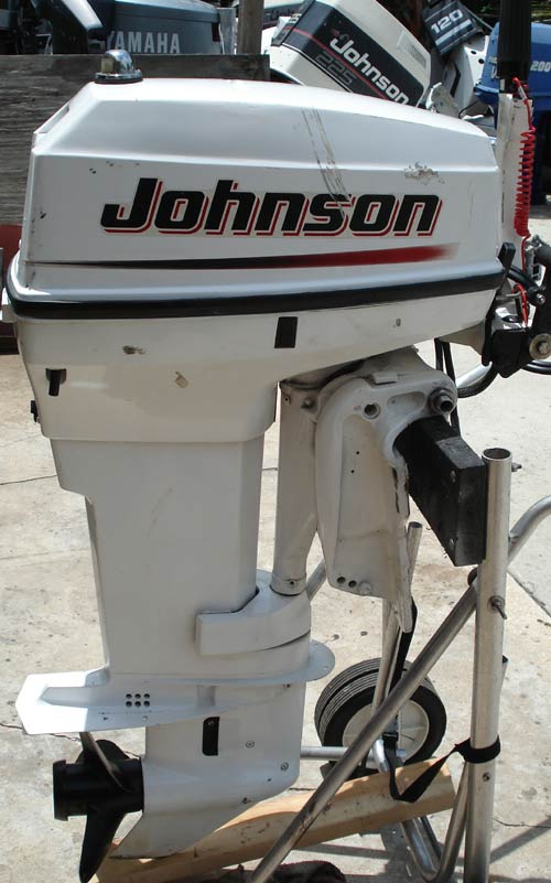 50 Hp Johnson Outboard Tiller