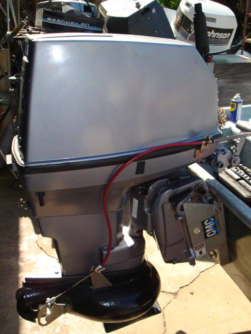 50 30hp Johnson Jet Outboard