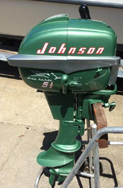 Vintage evinrude classic johnson antique mercury outboards for New johnson boat motors for sale