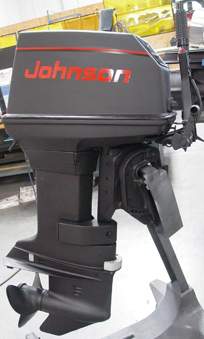 55 Hp Johnson Outboard Commercial Boat Motors For Sale