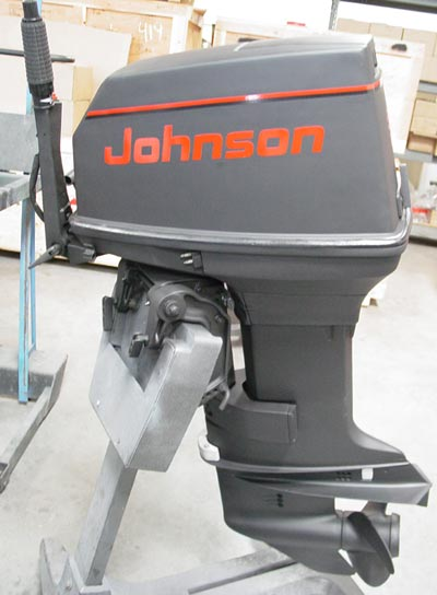 55 hp johnson outboard commercial boat motors for sale For55 Johnson Outboard Motor
