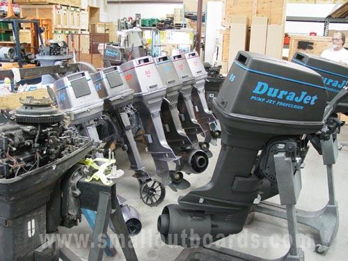 55hp Johnson Dura Jet Pump Jet outboard boat motors for sale