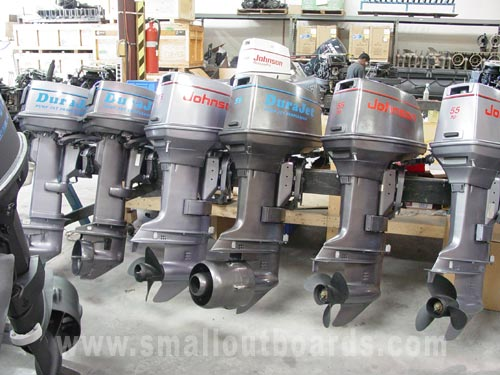 55hp johnson dura jet pump jet outboard boat motors for sale
