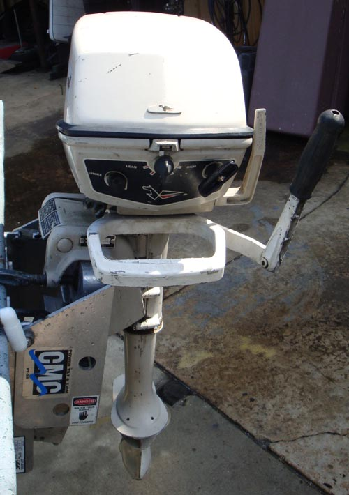5 Hp Johnson Outboard Boat Motor For Sale