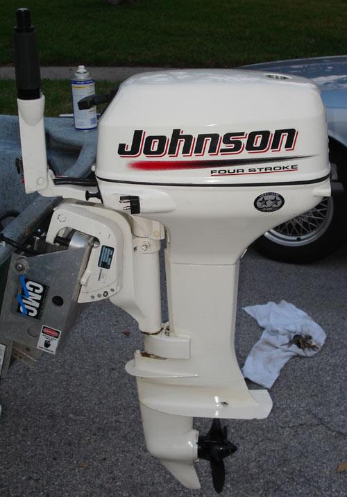 2004 Johnson 6hp 4 Stroke For Sale