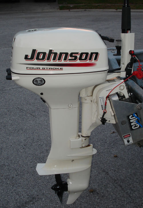 2004 johnson 6hp 4 stroke for sale