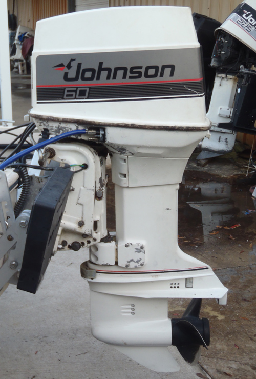 Johnson outboard motor 60 hp used outboard motors for sale for 55 johnson outboard motor