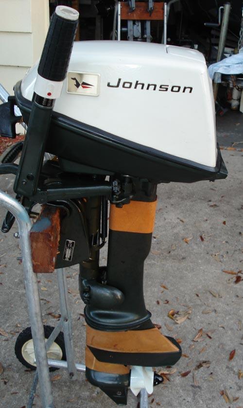Johnson boat motor manual all boats for Johnson outboard motor maintenance