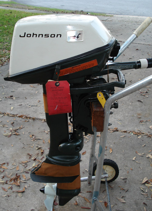 6hp Johnson Outboards
