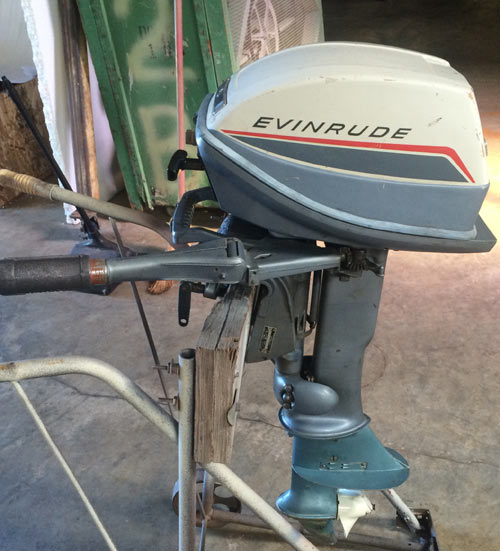 6hp Evinrude Fisherman Outboard Boat Motor For Sale