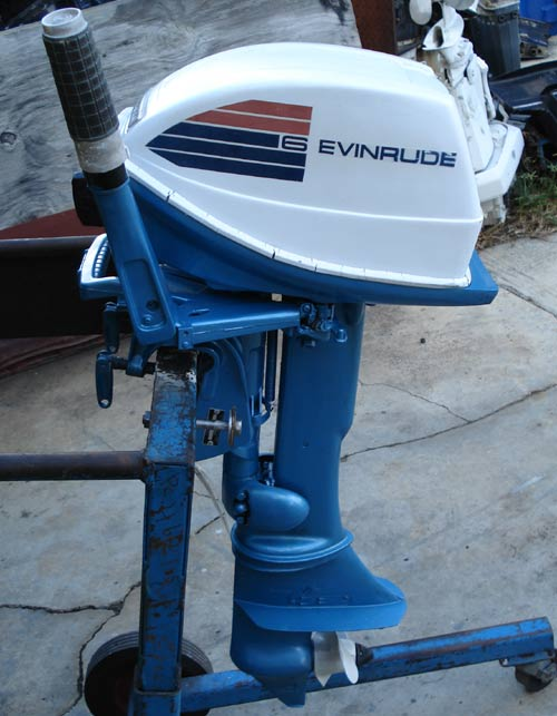 Evinrude 15 Hp >> Evinrude 6hp Fisherman Outboard