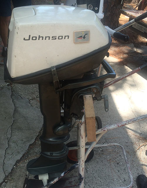 Long Shaft 6 Horsepower Johnson OMC Outboard For Sale