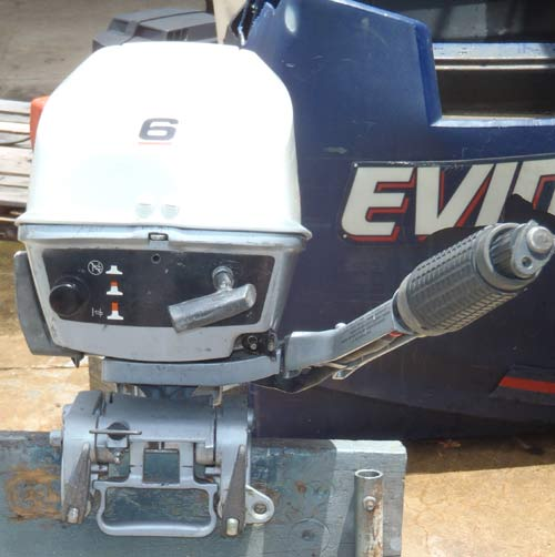 6 hp evinrude yachtwin outboard sailboat motor for 6hp boat motor for sale