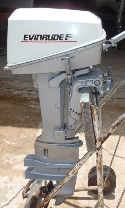 6 hp evinrude yachtwin outboard sailboat motor for Long shaft trolling motor for sale