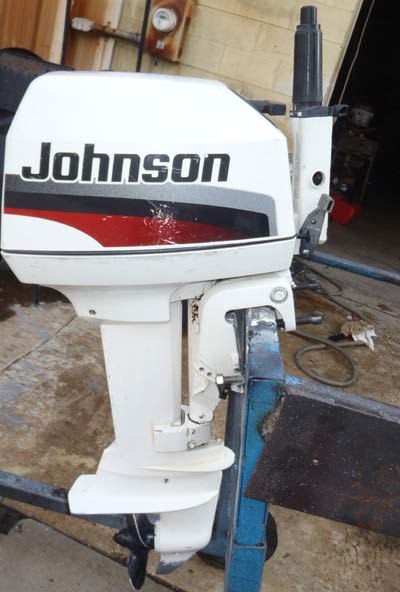 johnson 6hp boat engine for sale