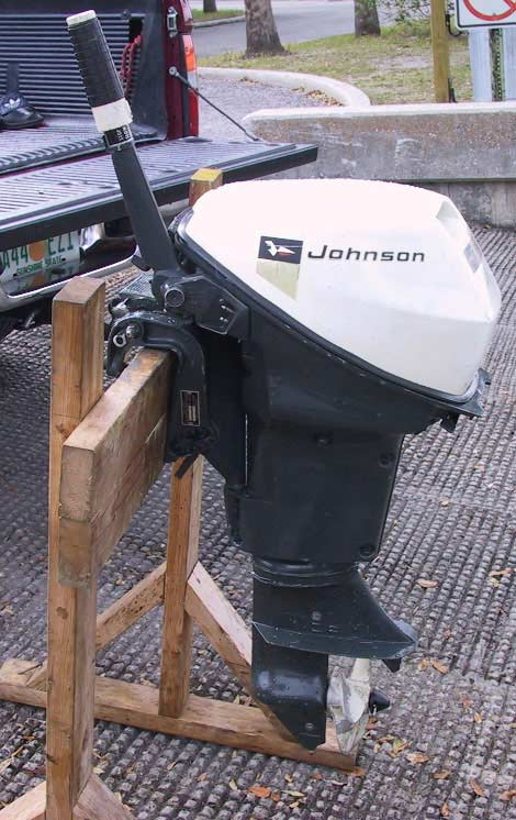 Evinrude 15 Hp >> Johnson 9.5 hp Outboard Boat Sportwin Used Johnsons Outboards