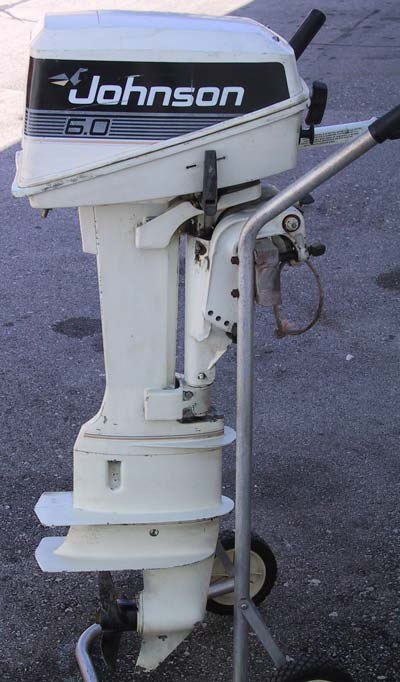 Mariner Outboard Motors >> Used Johnson 6 hp Outboard long shaft Boat Motor