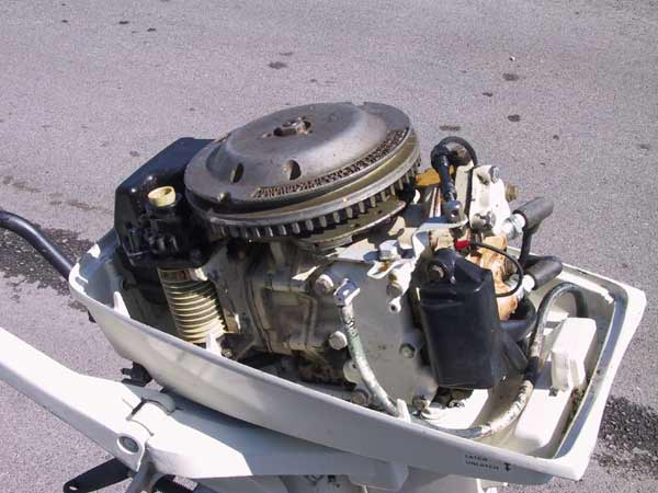 Used 1981 johnson 7 5 hp outboard boat motor for sale for 5hp outboard motor for sale