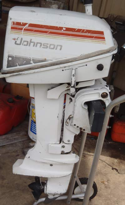 Johnson 8 hp outboard boat motor for sale for New johnson boat motors for sale