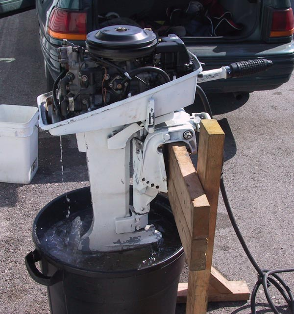 1985 Used Johnson Outboard Boat Motor For Sale