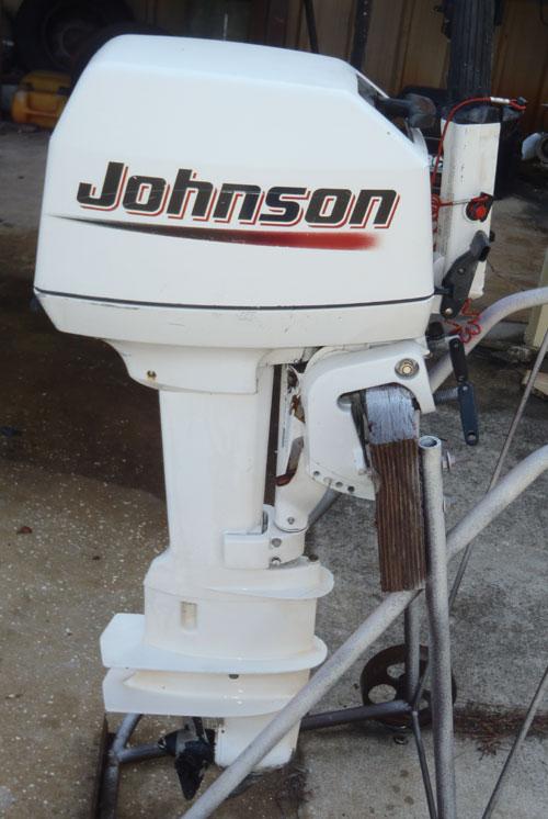 8hp johnson long shaft for 25 hp johnson outboard motor