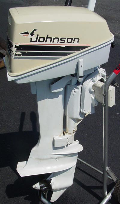 Johnson 8hp outboard boat motor for sale for New johnson boat motors for sale