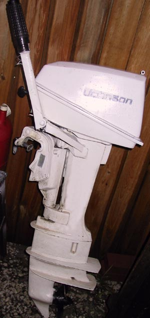 "Johsnon 8 hp 20"" Long Shaft"