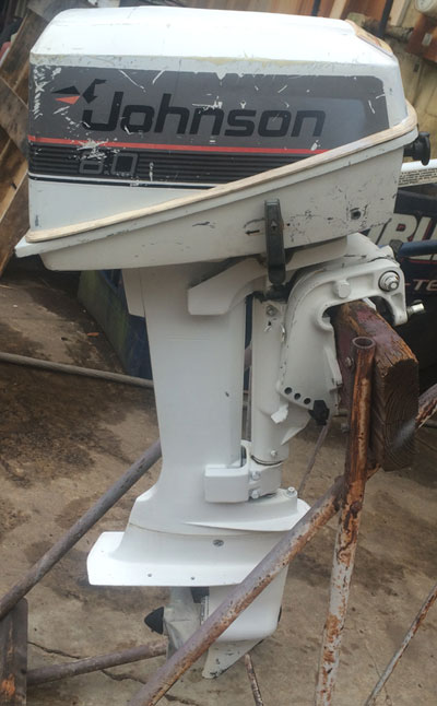 8 hp Johnson Outboard For Sale