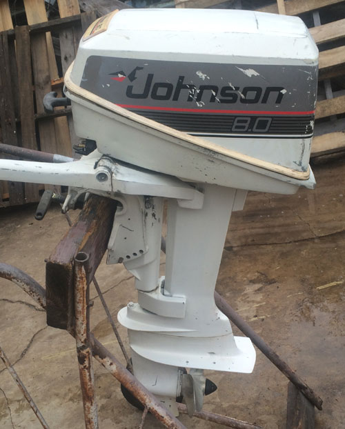 Evinrude 15 Hp >> 8 hp Johnson Outboard For Sale