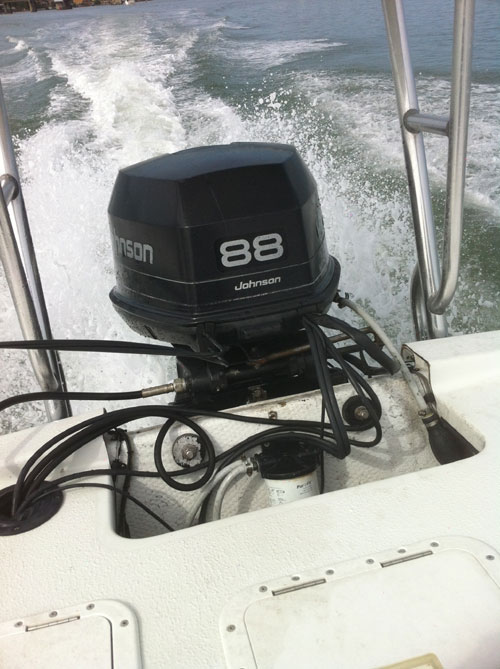 88hp Johnson Outboard Boat Motor For Sale