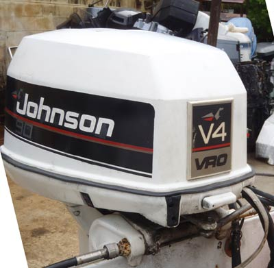 90 hp johnson outboard rh smalloutboards com Johnson 150 Outboard Johnson Outboard Decals